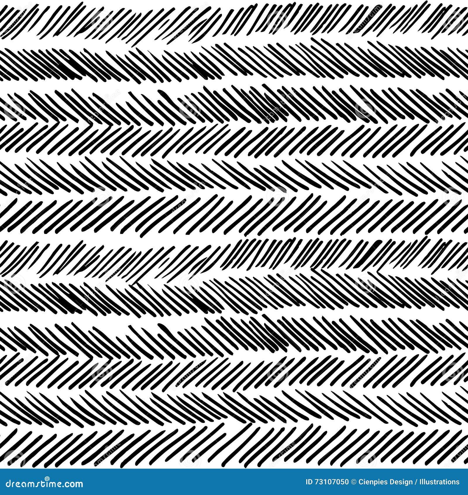 f5ccf15423b Stripe Black And White Boho Retro Seamless Pattern Stock Vector ...