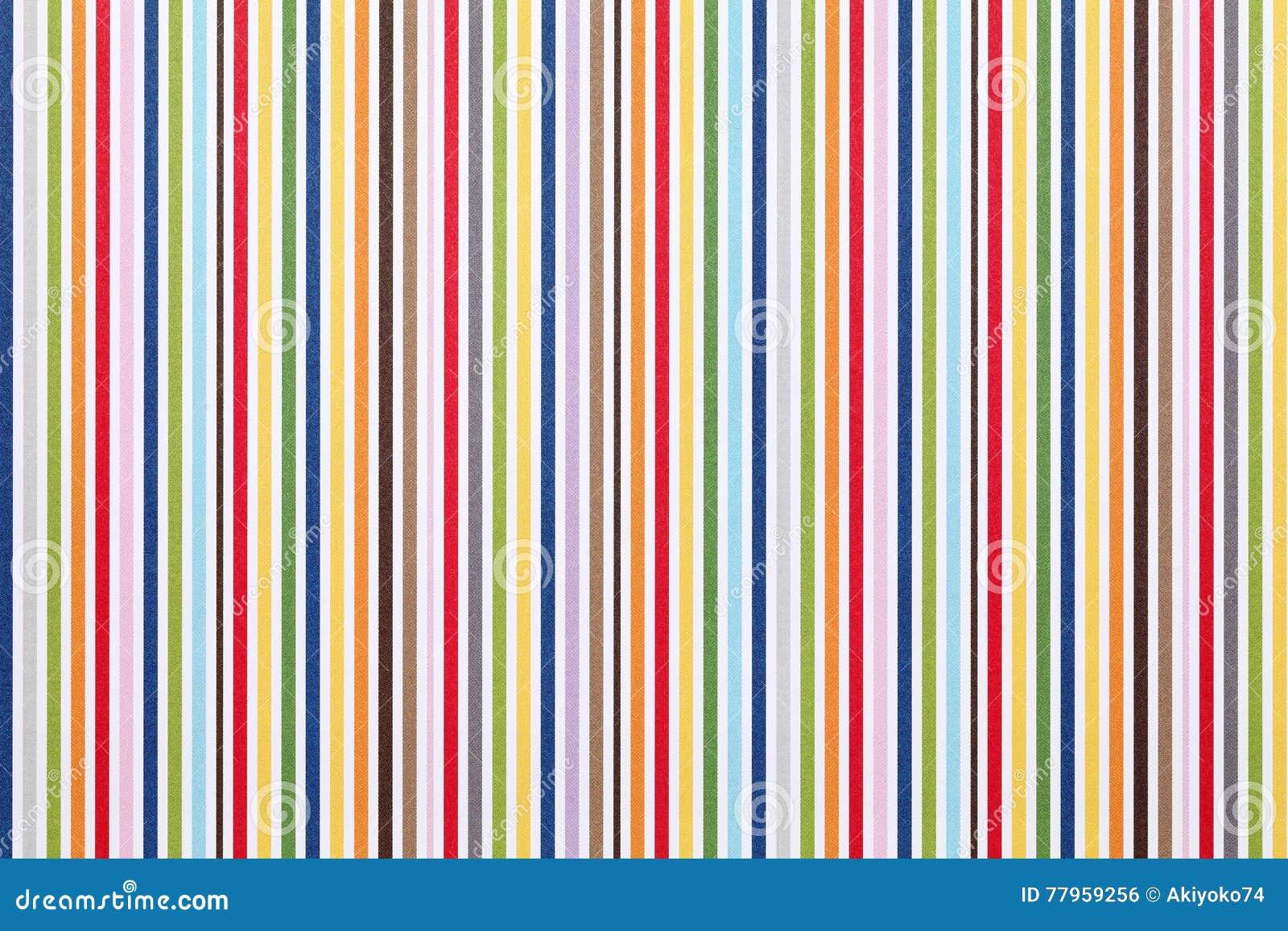 Stripe pattern paper