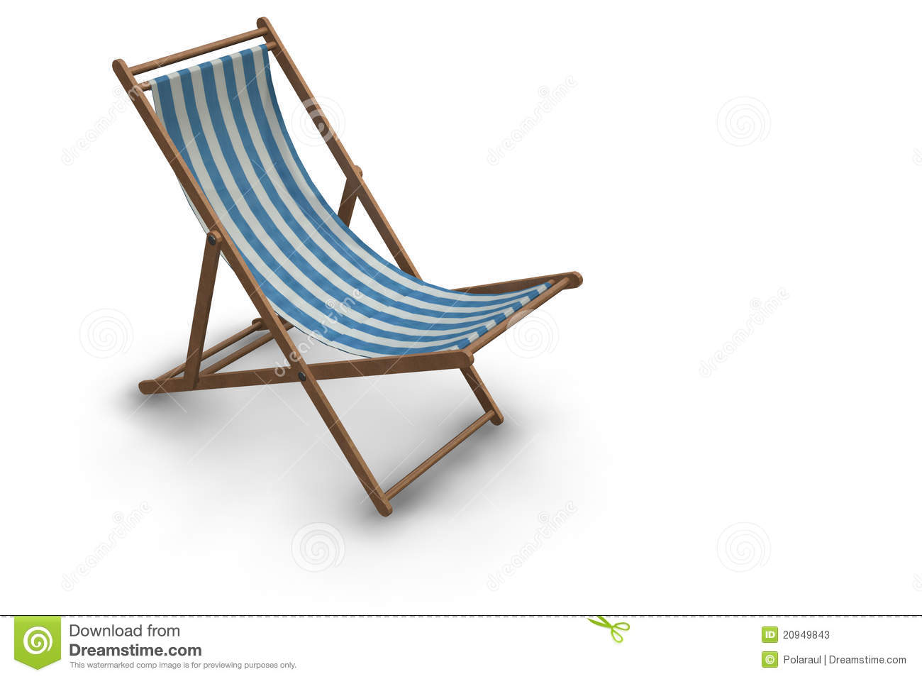 Miraculous Striped Beach Chair Stock Illustration Illustration Of Caraccident5 Cool Chair Designs And Ideas Caraccident5Info
