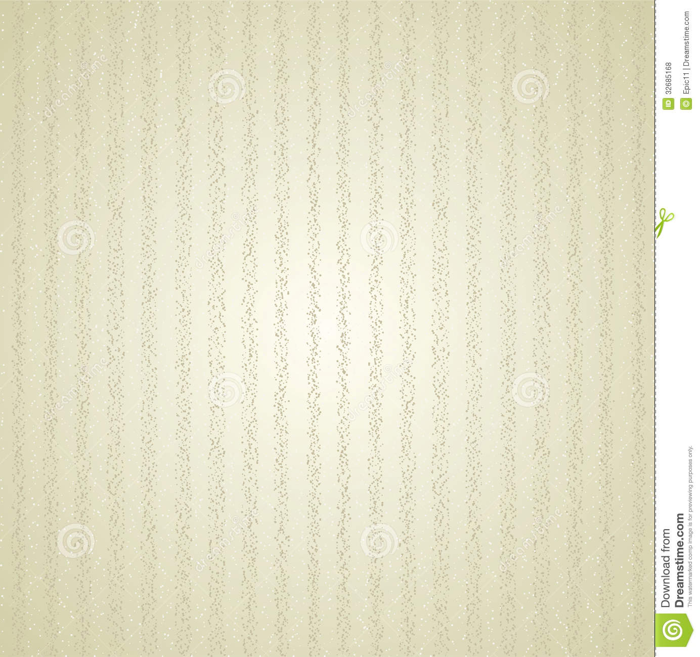 Striped Beige Retro Pattern Background Stock Vector
