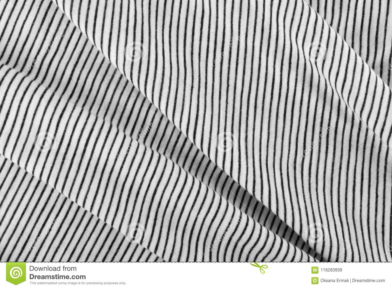 Striped Cotton Fabric Background Stock Image Image Of Cover