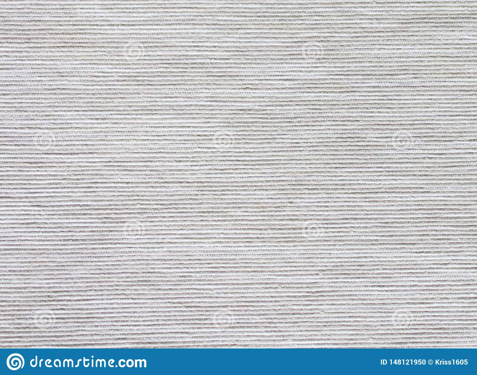 striped texture of gray natural interior fabric