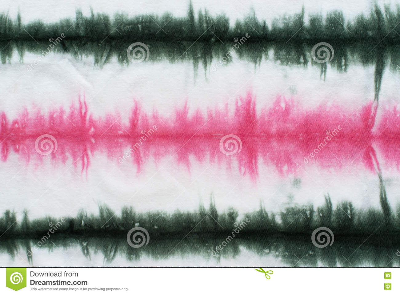 Striped tie dye pattern abstract background.