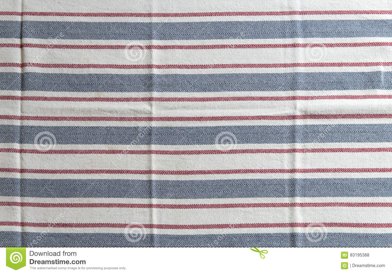 Blue and white kitchen towels - Blue And White Kitchen Towels Striped White Kitchen Towel With Blue And Red Texture
