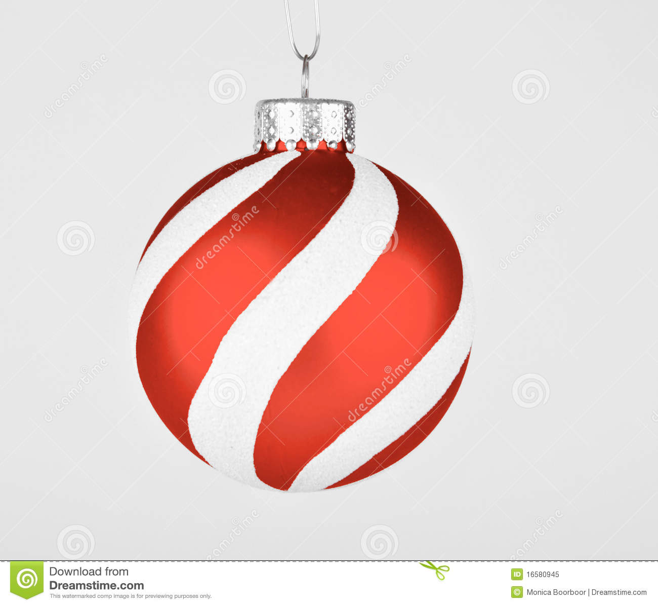 Holiday Ornament Striped