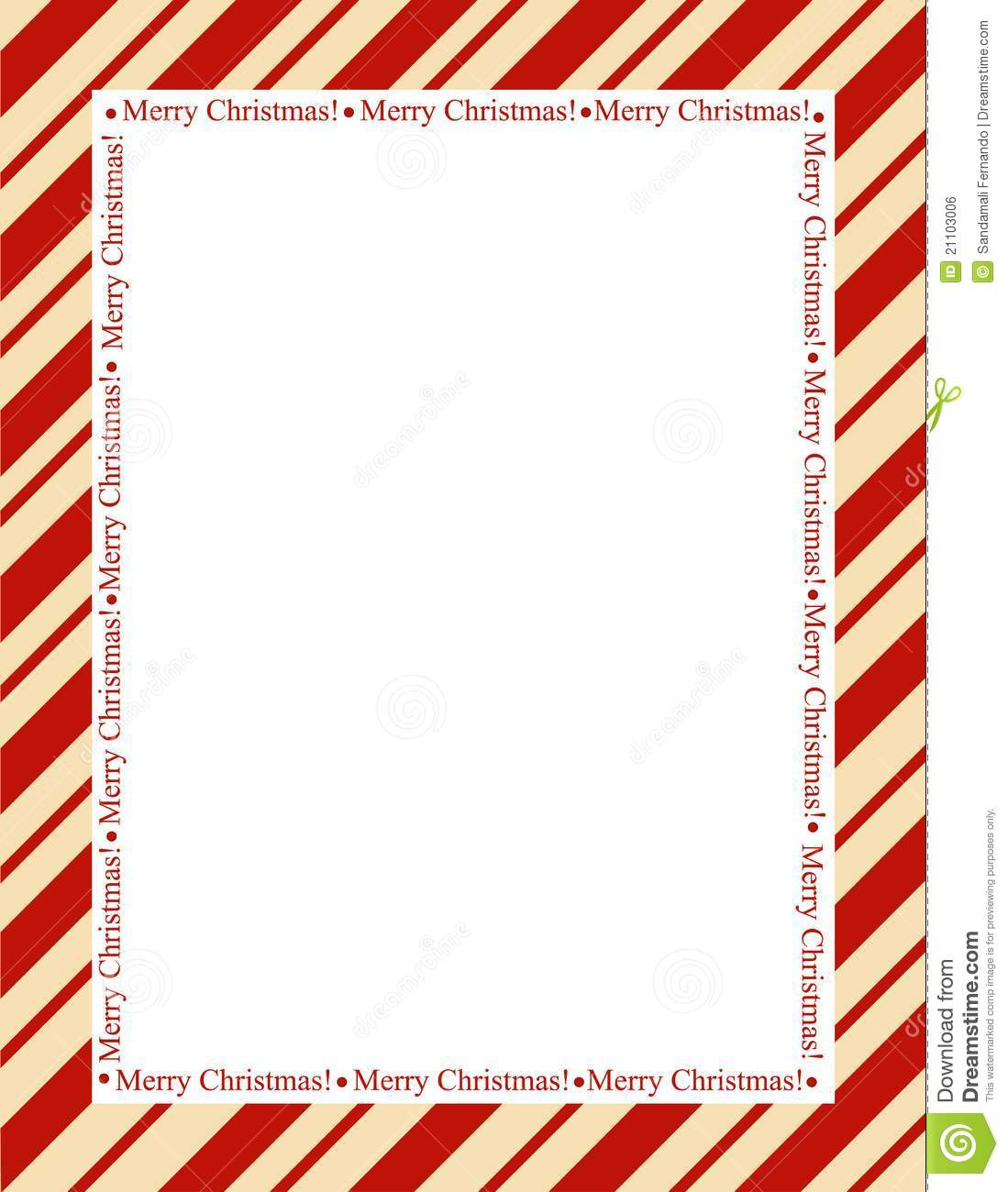 ... red stripes with merry christmas letters. christmas candy cane border