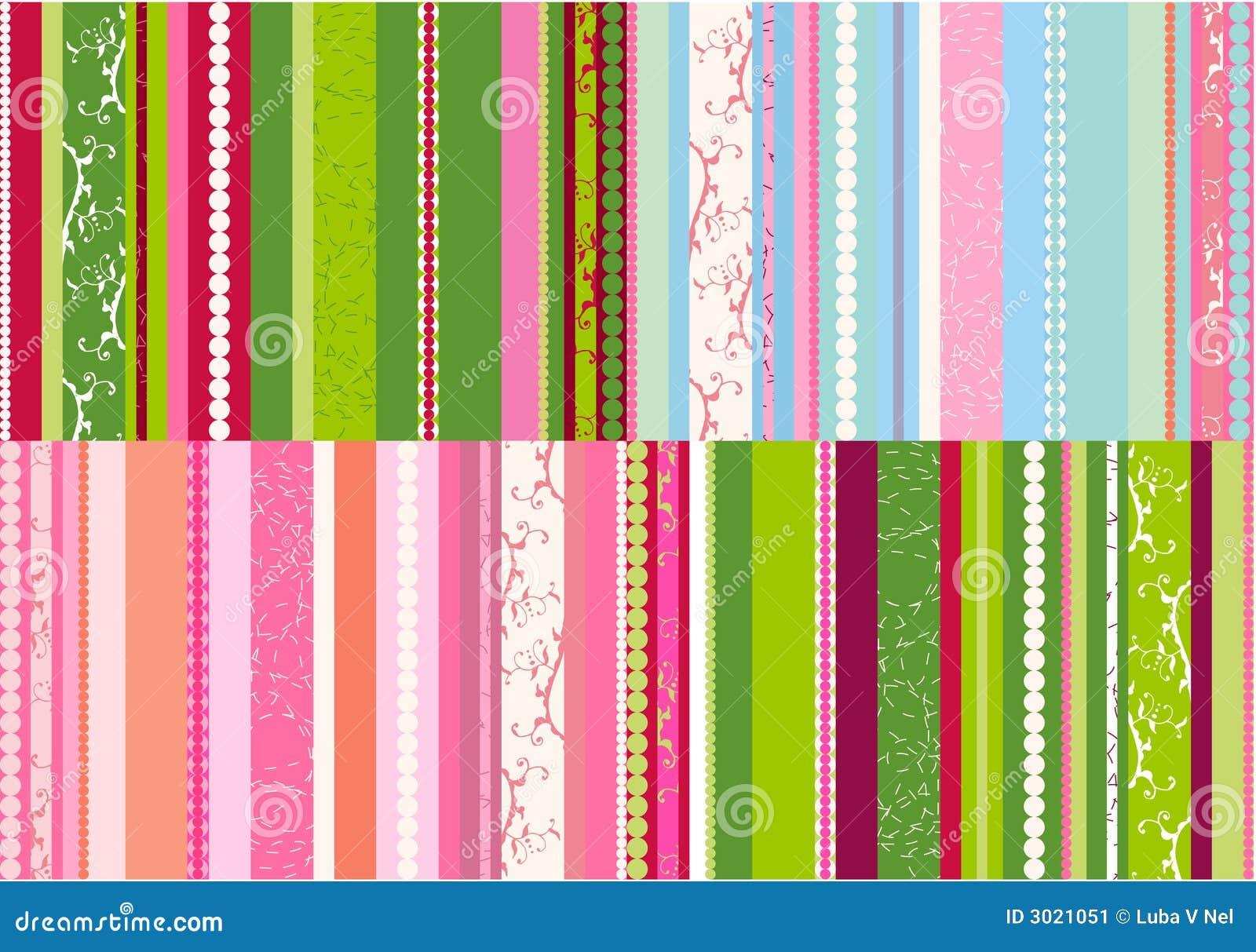 Stripes designs vector