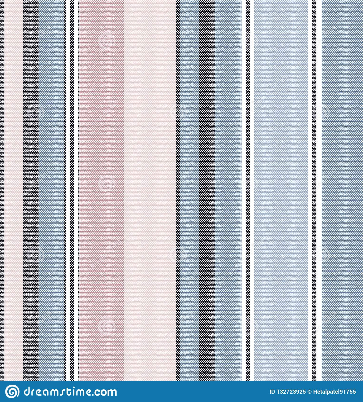 Stripes pattern on fabric texture