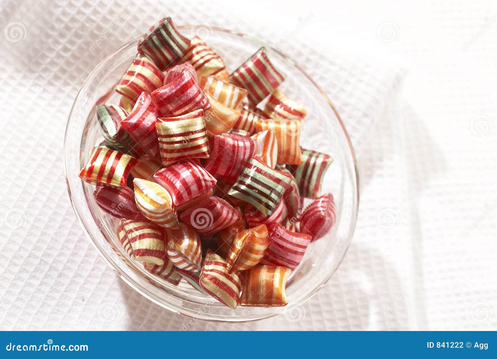 Stripy lollipop