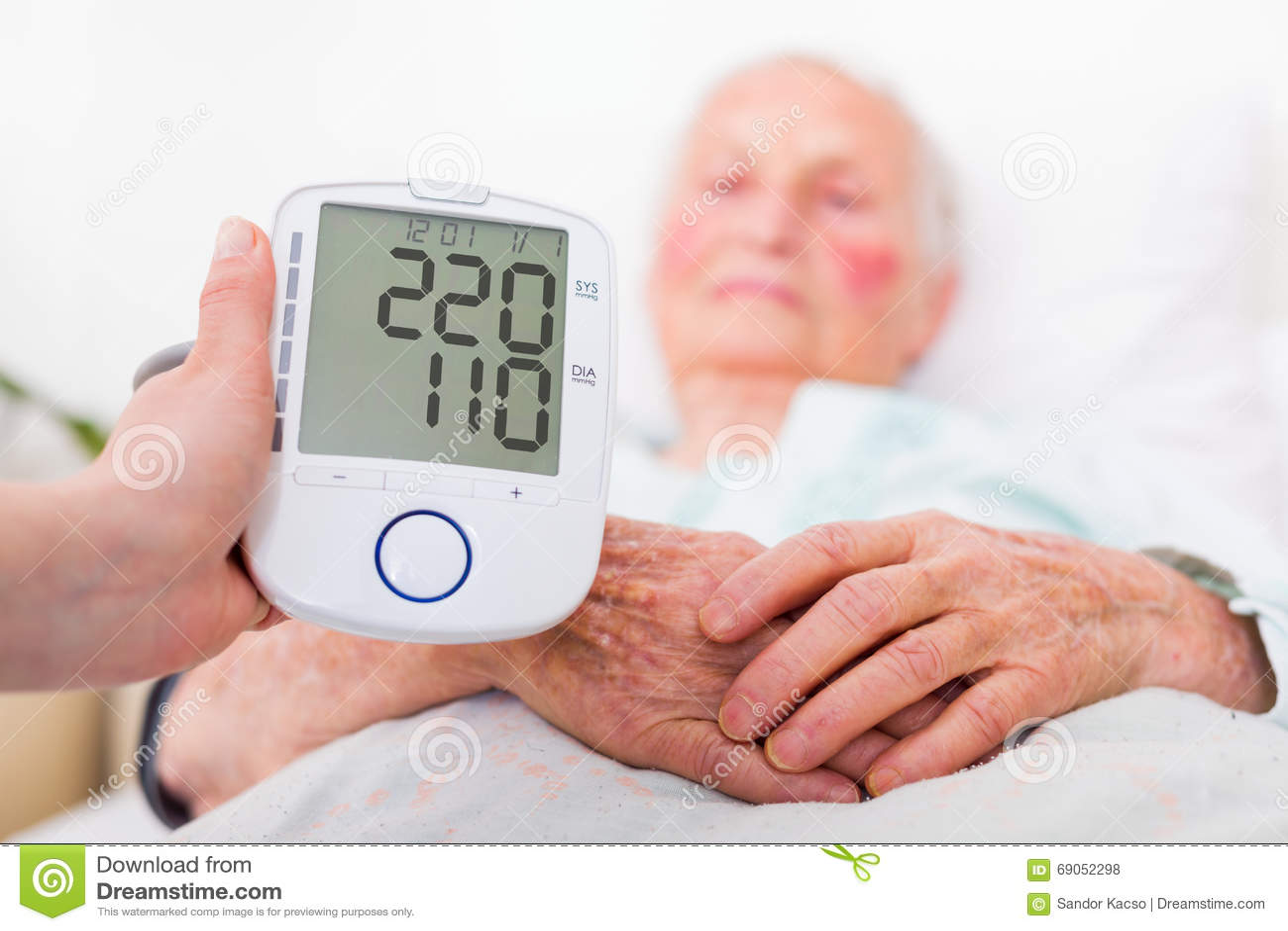 Stroke danger - high blood pressure