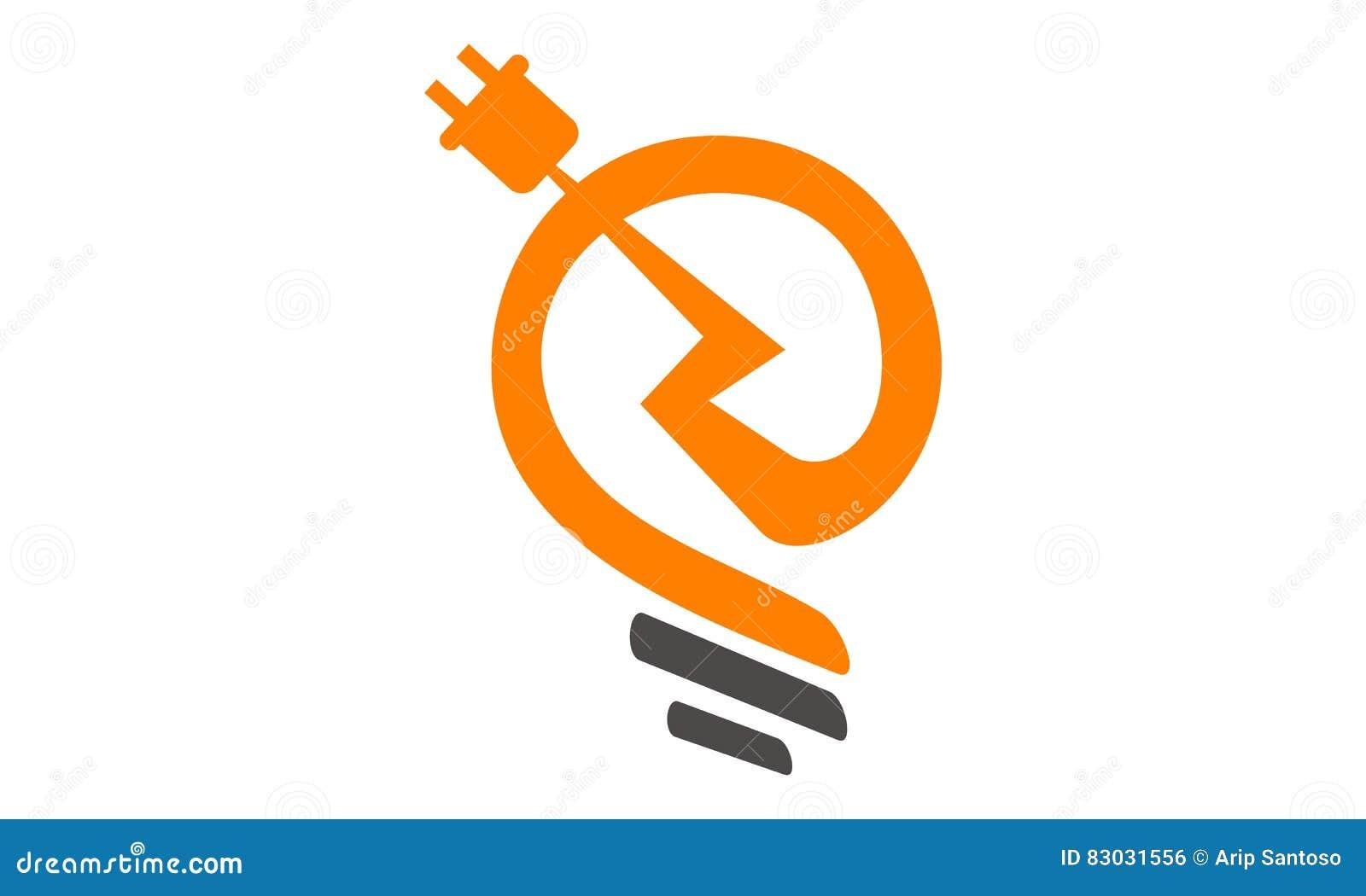 Strom-Logo vektor abbildung. Illustration von blinken - 83031556
