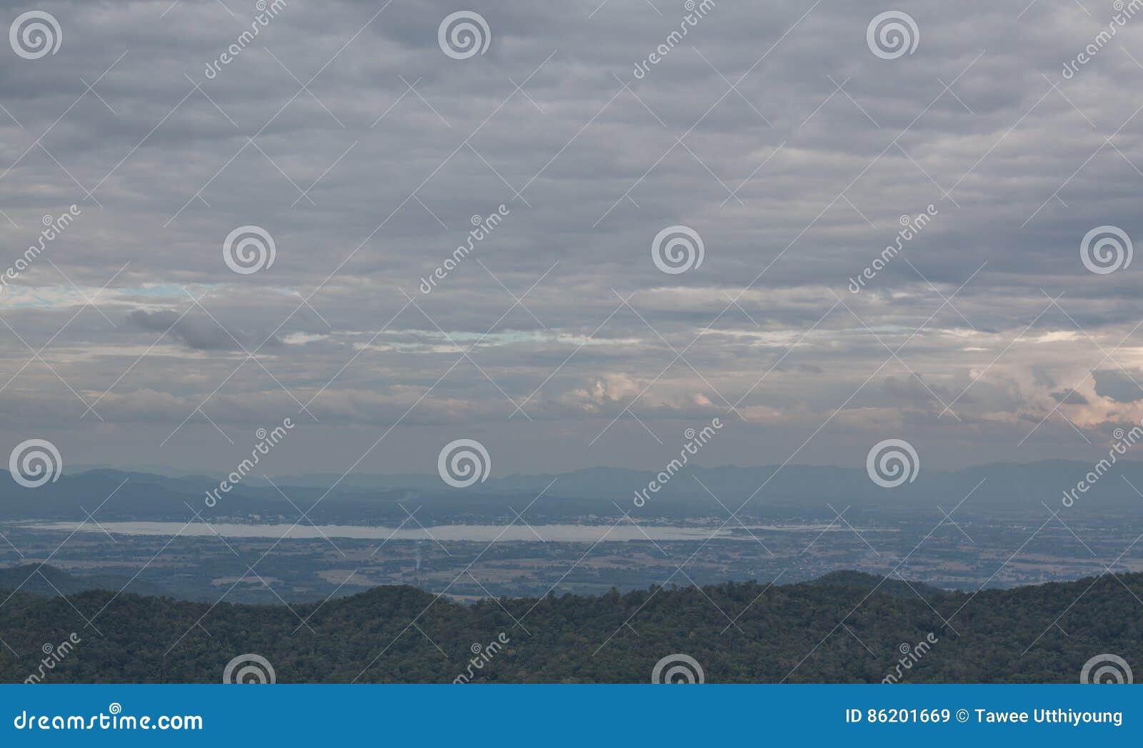Strom molnhimmel