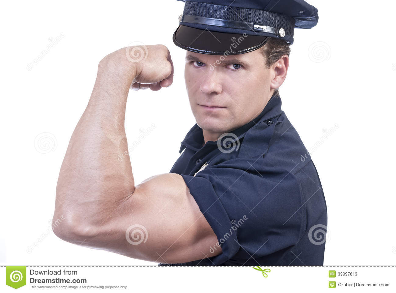 Strong Arm Of The Law Stock Photo - Image: 39997613