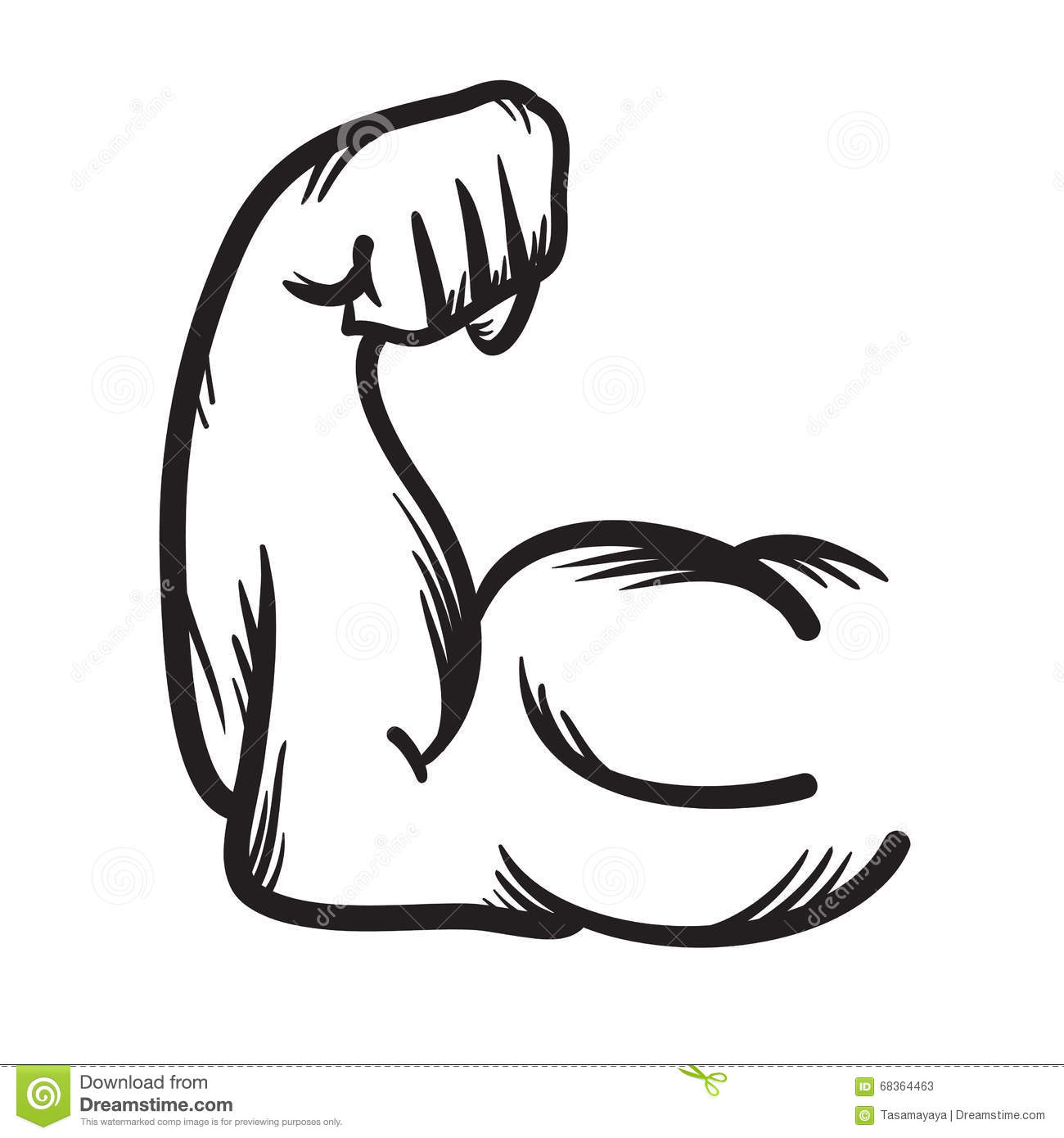 Muscle Arm Icon