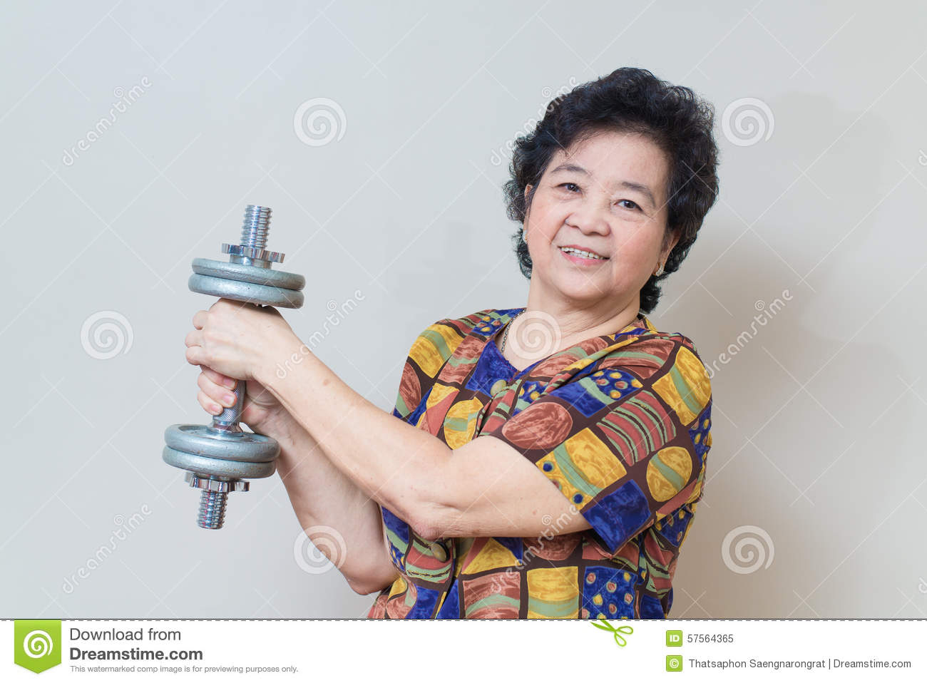 senior asian women