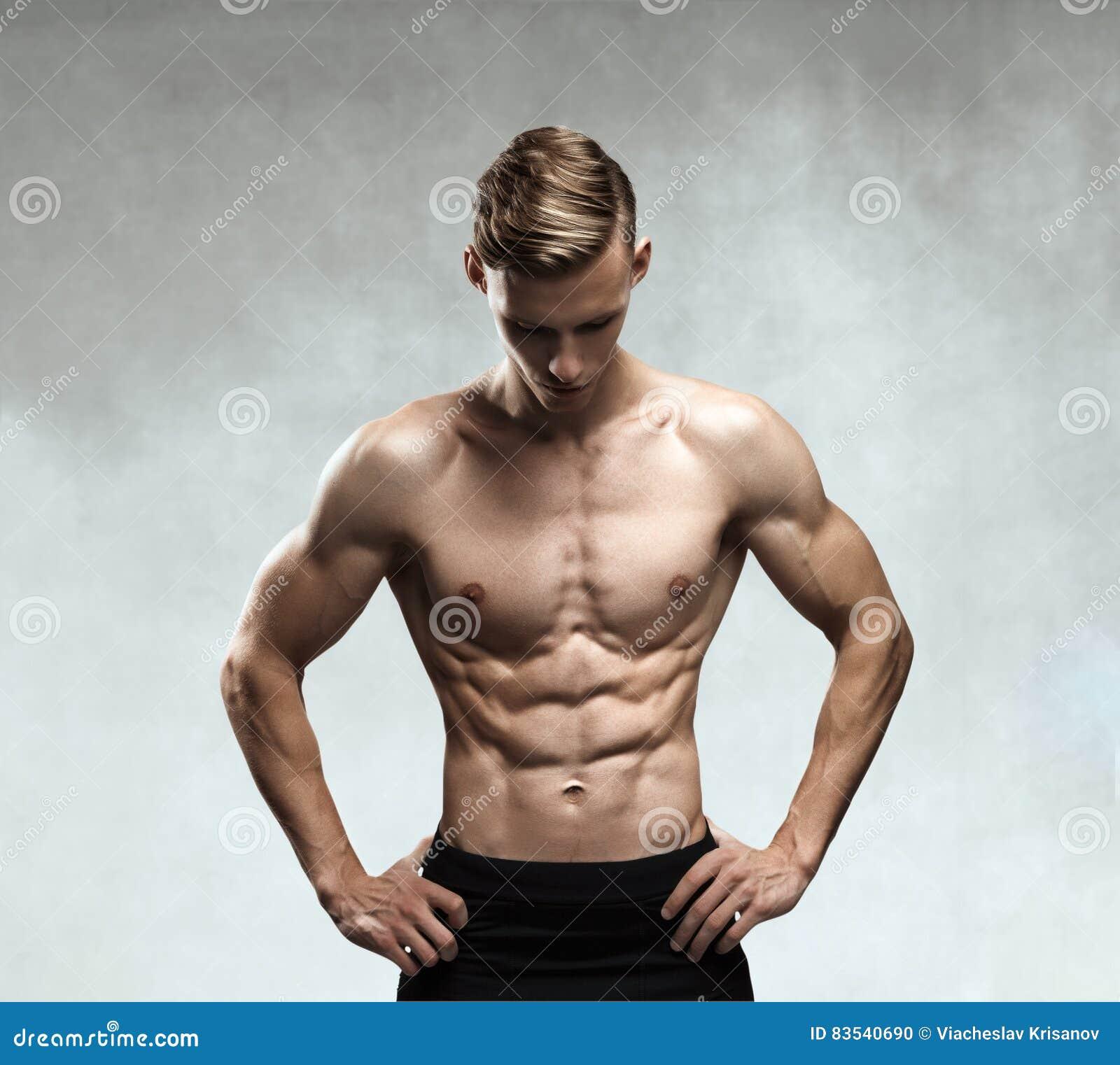 Male torso stock photo. Image of biceps, masculinity