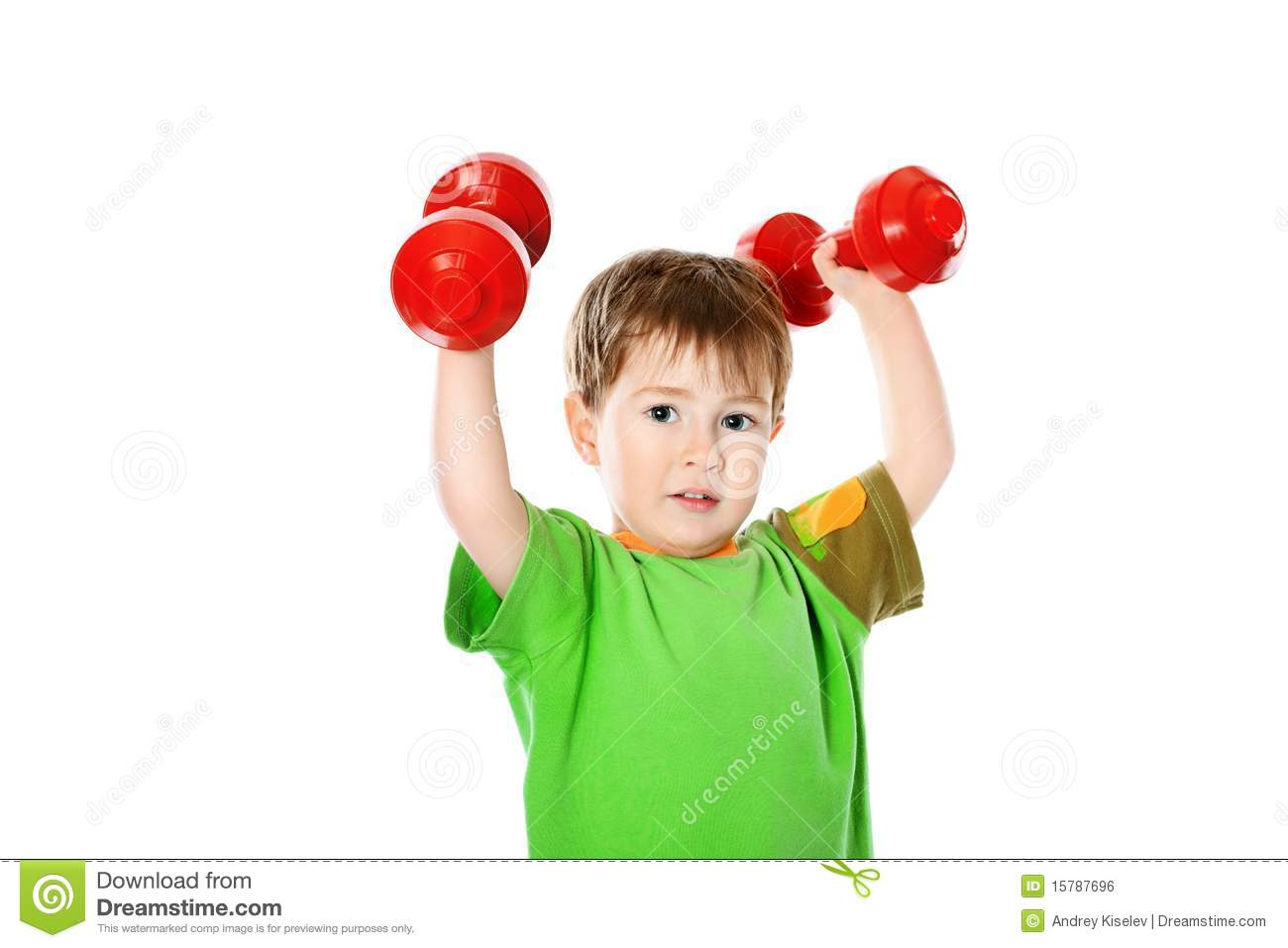 Strong Boy Royalty Free Stock Image Image 15787696