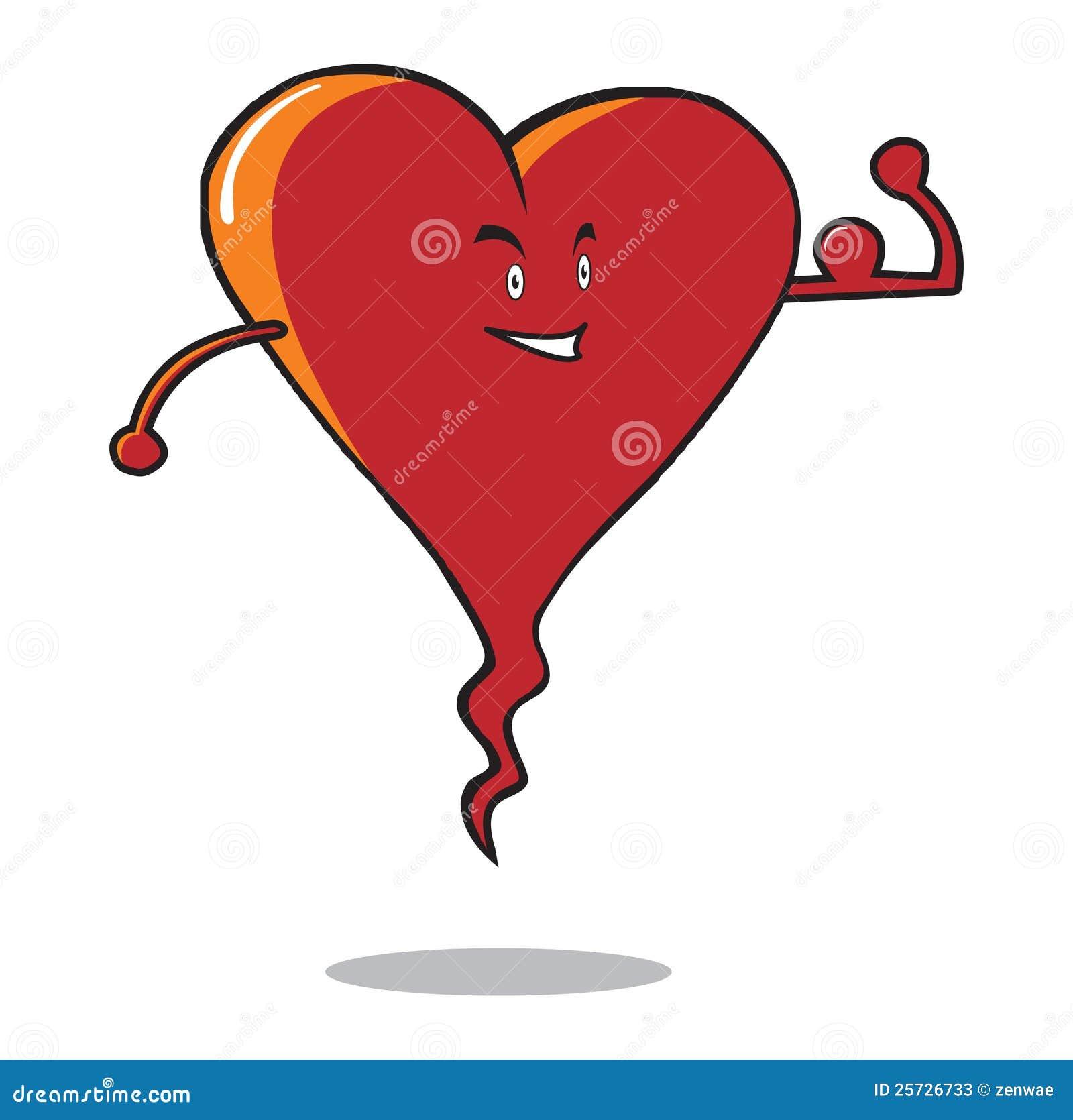 Strong Heart Stock Photos - Image: 25726733