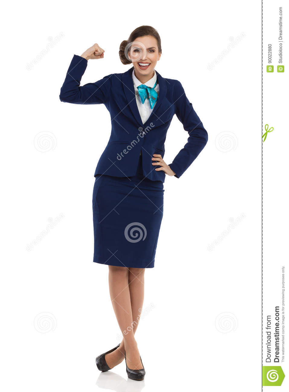 8c2358a5 Strong And Independent Young Business Woman Stock Photo - Image of ...