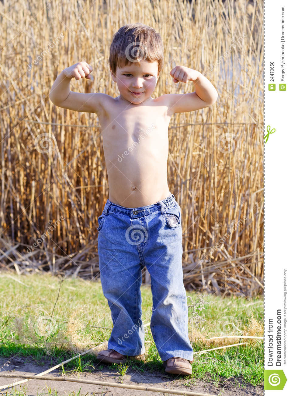how to become strong for kids