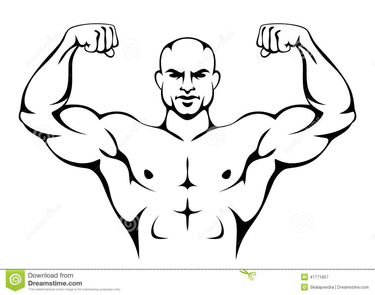 clipart strong man - photo #36
