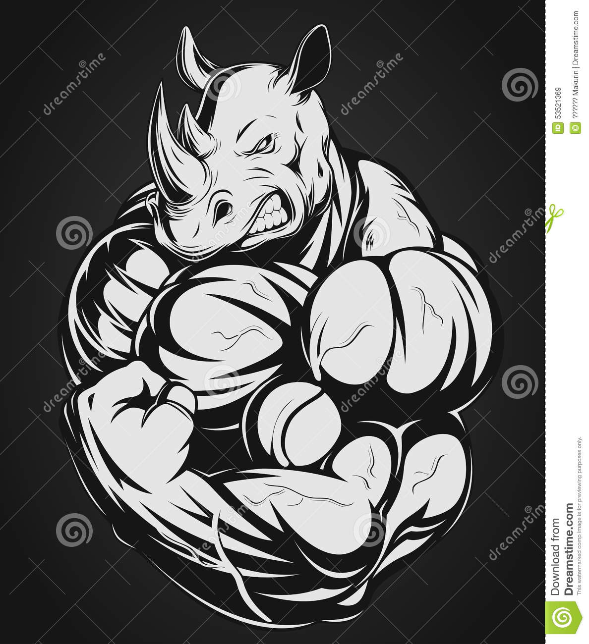Ogre as well Attract A Goth Girl further 710442909938879089 furthermore Stock Illustration Strong Rhinoceros Vector Illustration Rhino Big Biceps Image53521369 further Bull Headed. on muscular cartoon characters