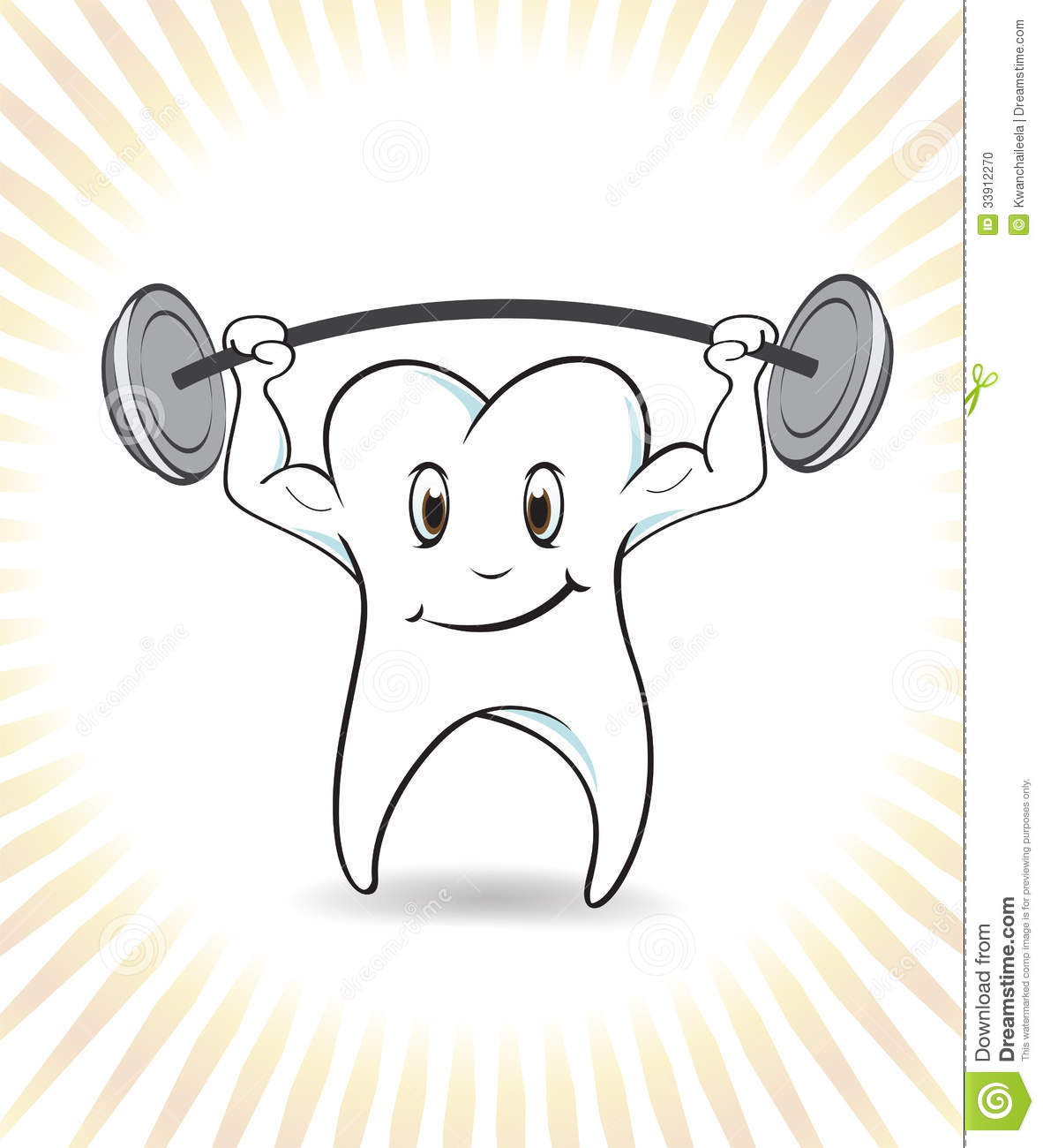strong tooth stock vector image of comical  eyes  good dentist clip art free dental clipart free