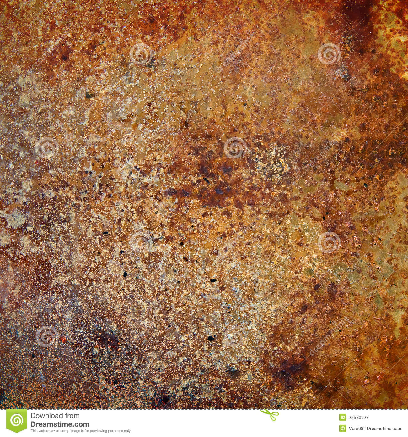 Strongly rusty metal plate stock photo image of for Plaque de metal adhesive