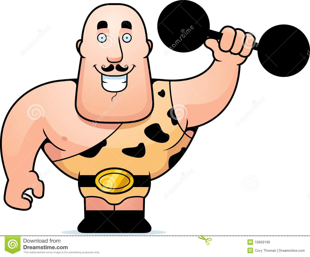 how to draw a strong man cartoon