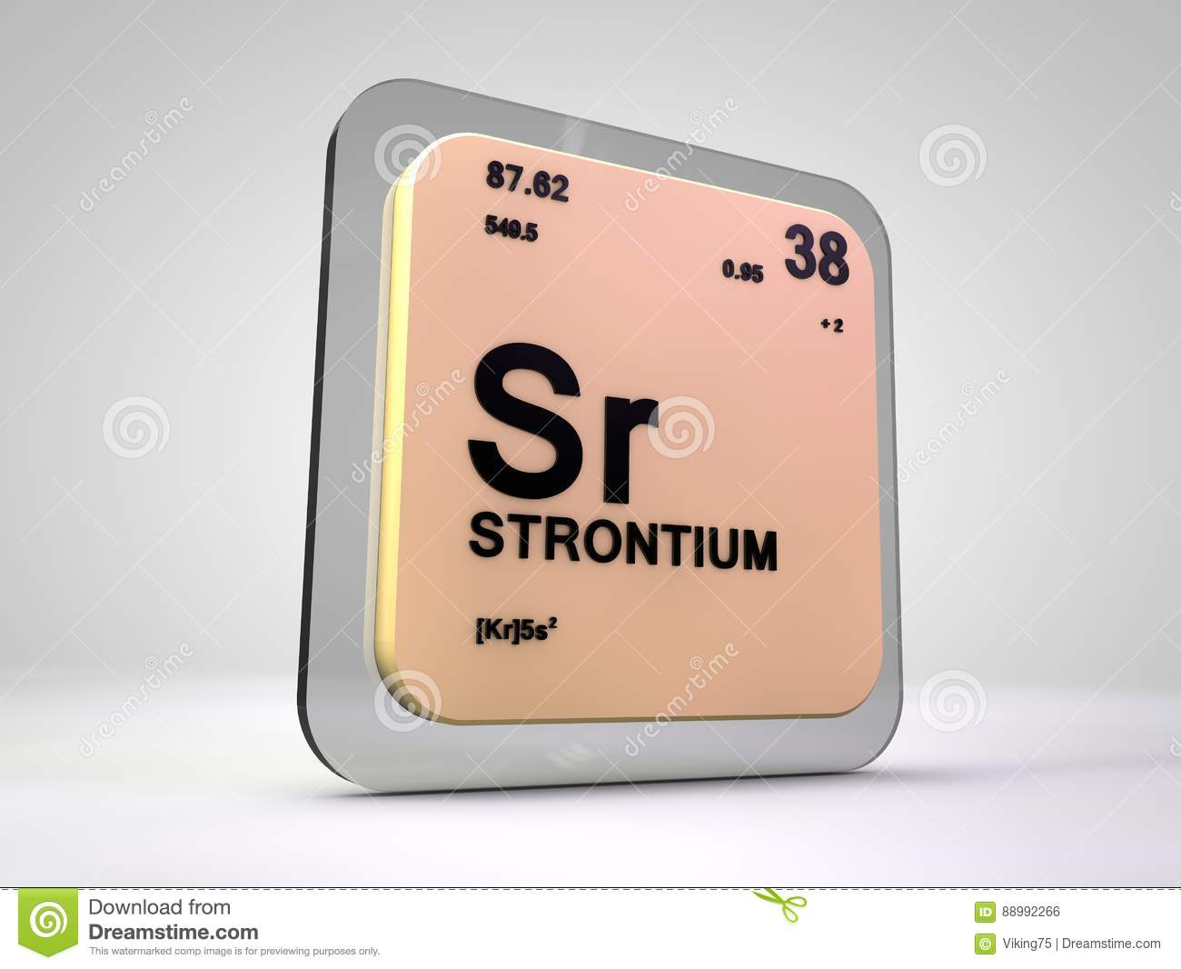 Strontium sr chemical element periodic table stock strontium sr chemical element periodic table gamestrikefo Gallery