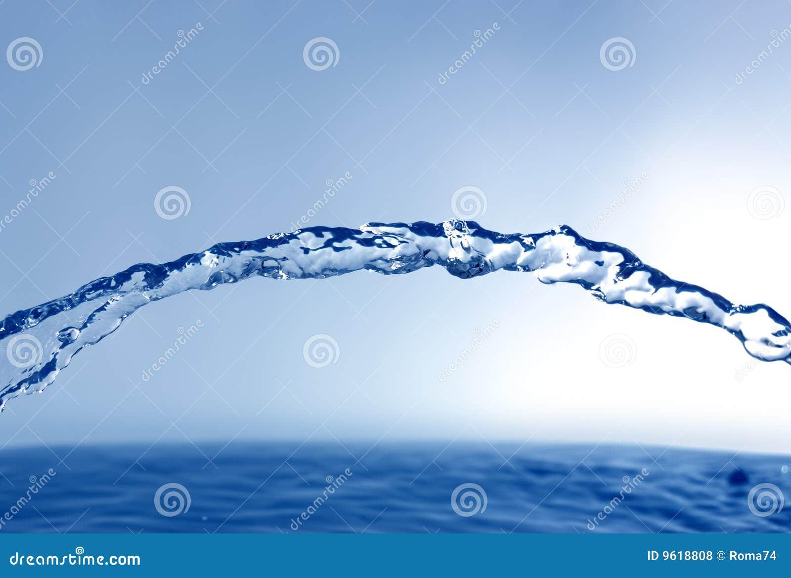 Stroom van water