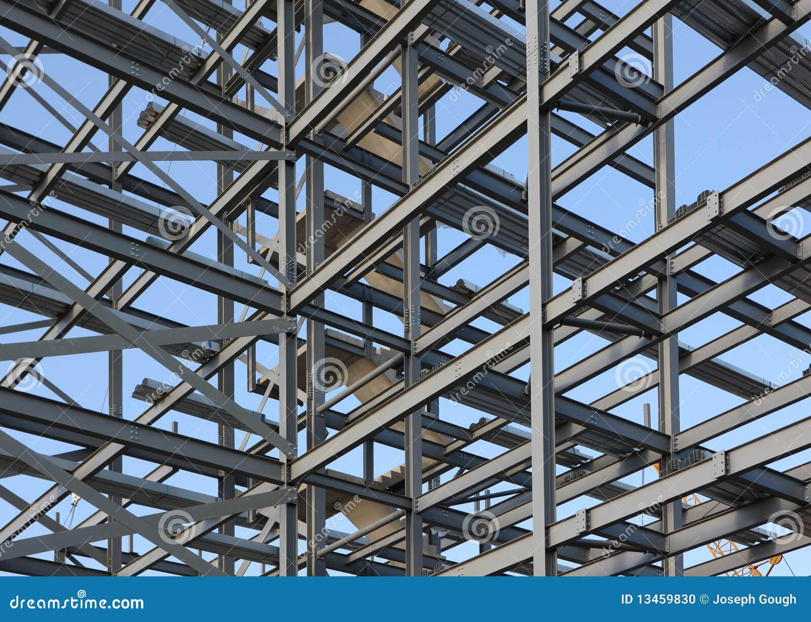 Structural Steel Framework Stock Photo Image Of Metal