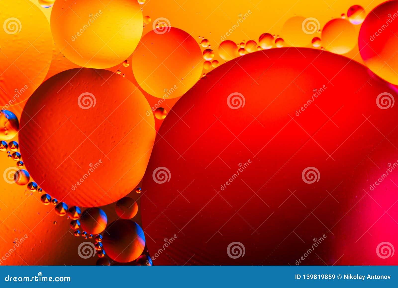 Structure abstraite de molécule Bulles de l eau Macro tir d air ou de molécule abrégez le fond Abrégé sur l espace ou planètes