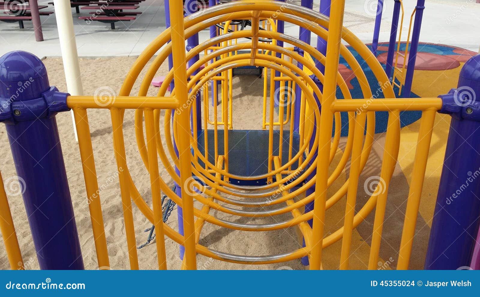 Structure circulaire de jeu