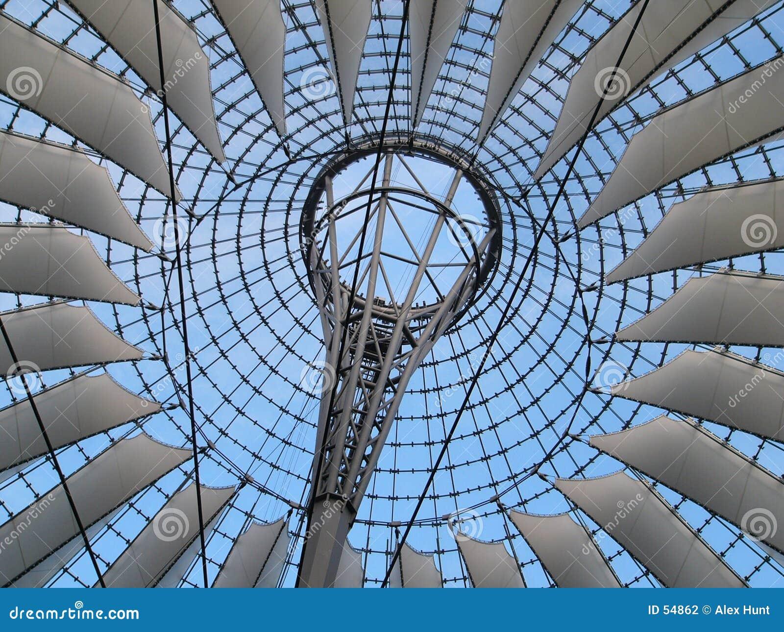 Download Structure des voiles photo stock. Image du voiles, plafond - 54862