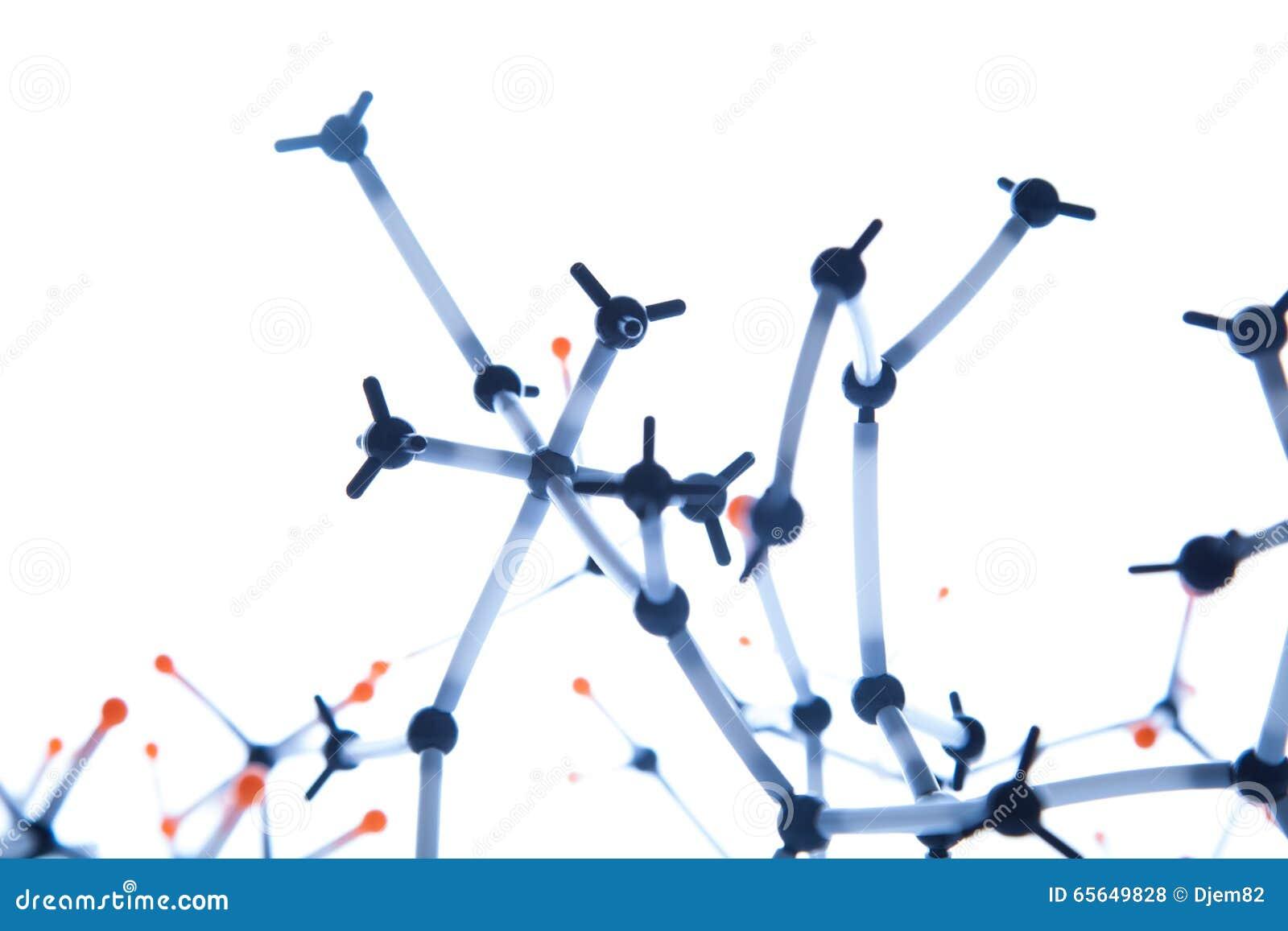 Structure moléculaire abstraite