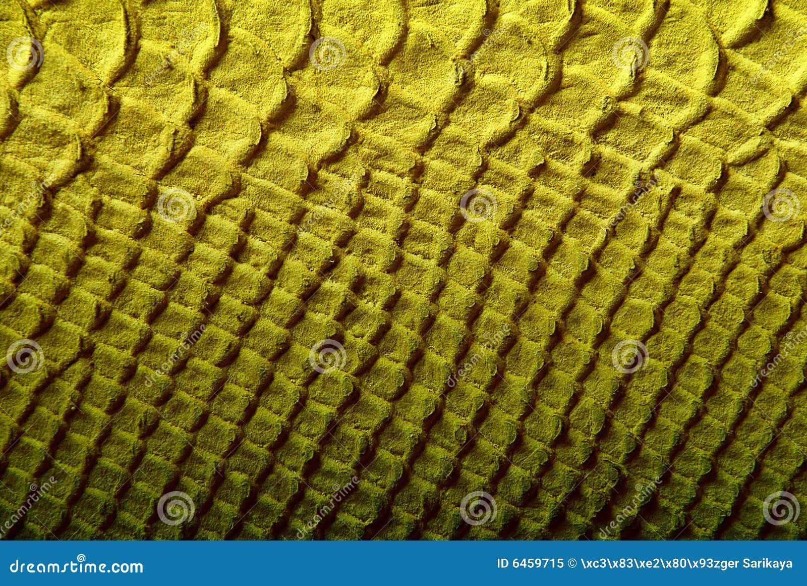 Struktura skórzanej żółty