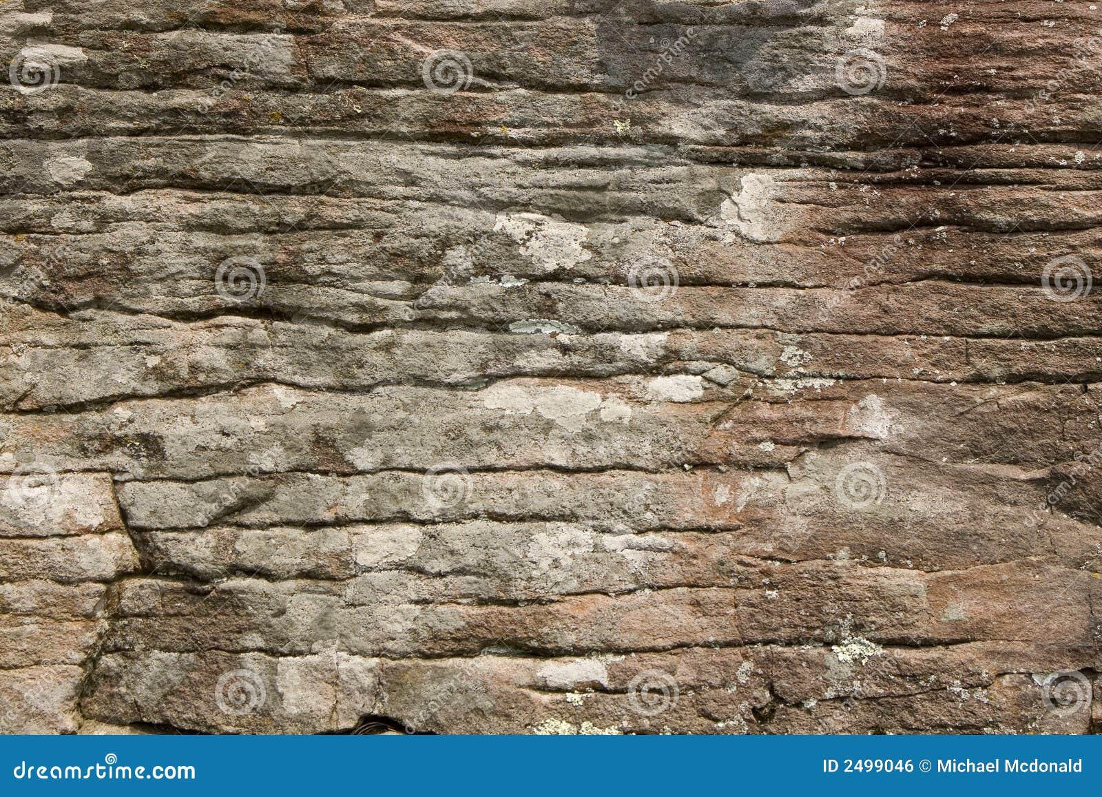 Struktura twarzy klifu skał