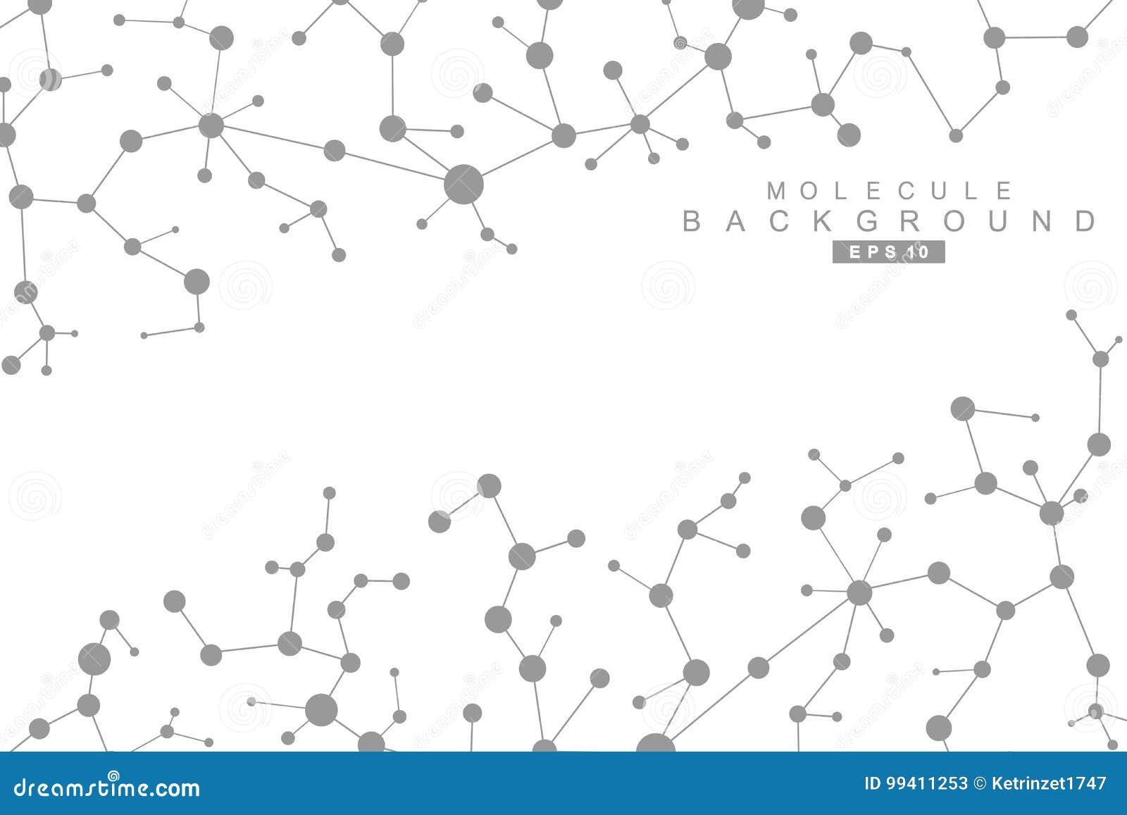 Strukturmolekyl och kommunikation Dna atom, neurons Vetenskapligt begrepp för din design Förbindelselinjer med prickar