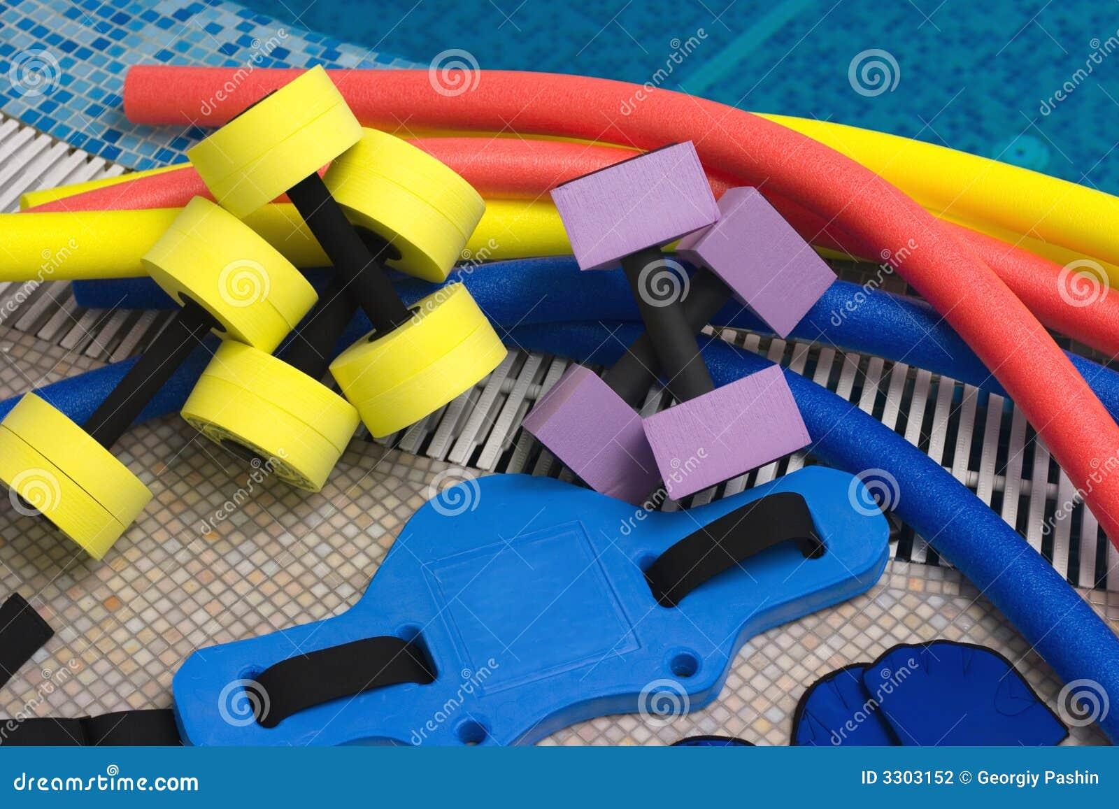Strumentazione di aerobics del Aqua