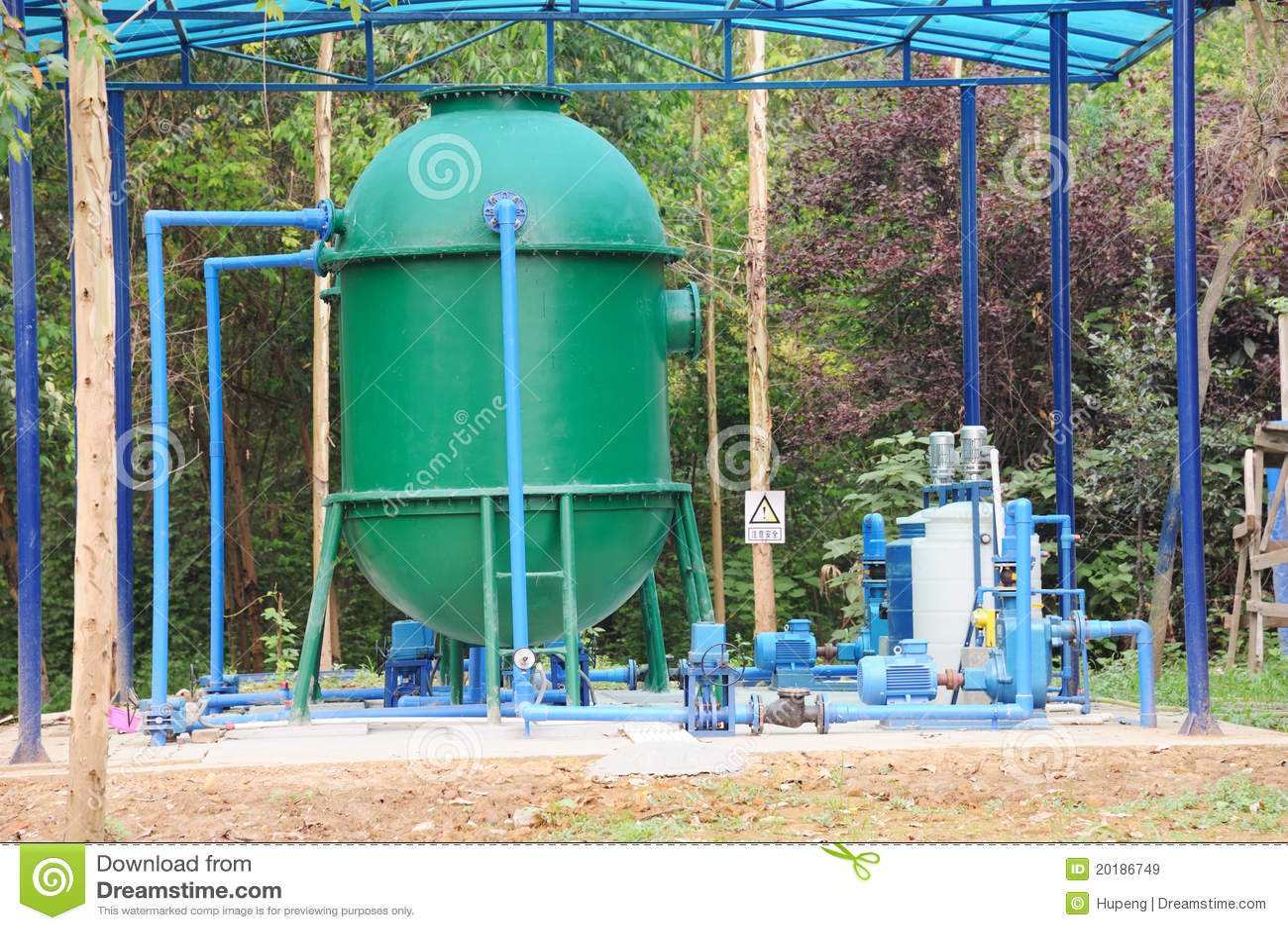 Strumentazione di trattamento delle acque