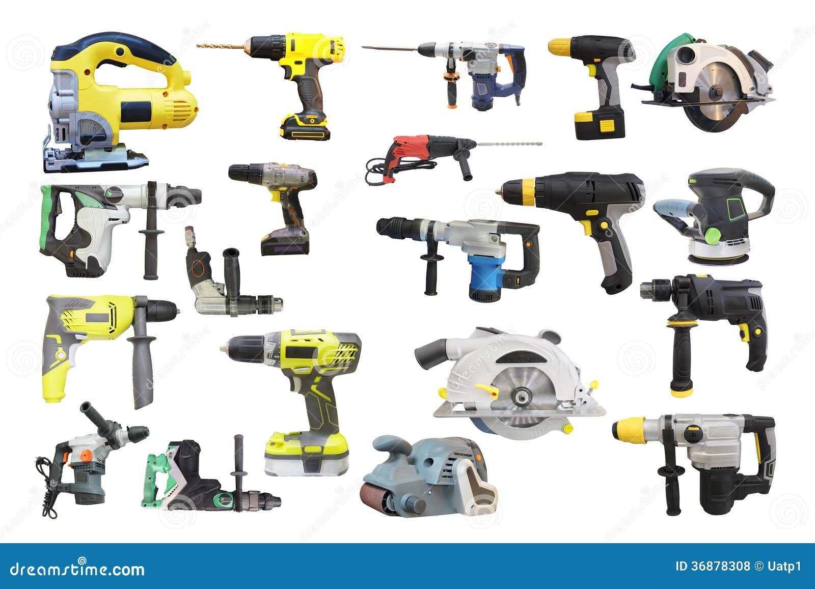 Download Strumenti fotografia stock. Immagine di carpentiere, potenza - 36878308