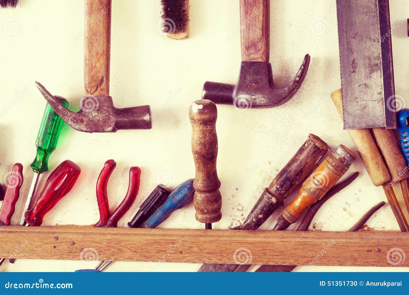 Strumenti Per Lavorare Il Legno : Strumenti assortiti per lavoro del legno fotografia stock