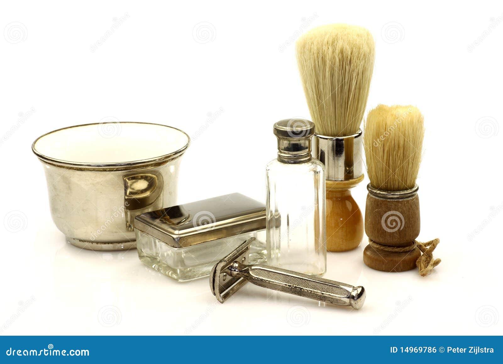 Strumenti del barbiere dell annata