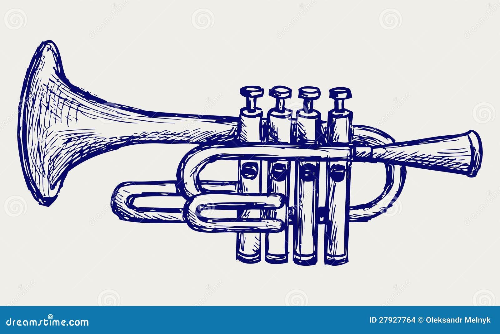 Strumento musicale del vento illustrazione vettoriale for Strumento del radiotecnico