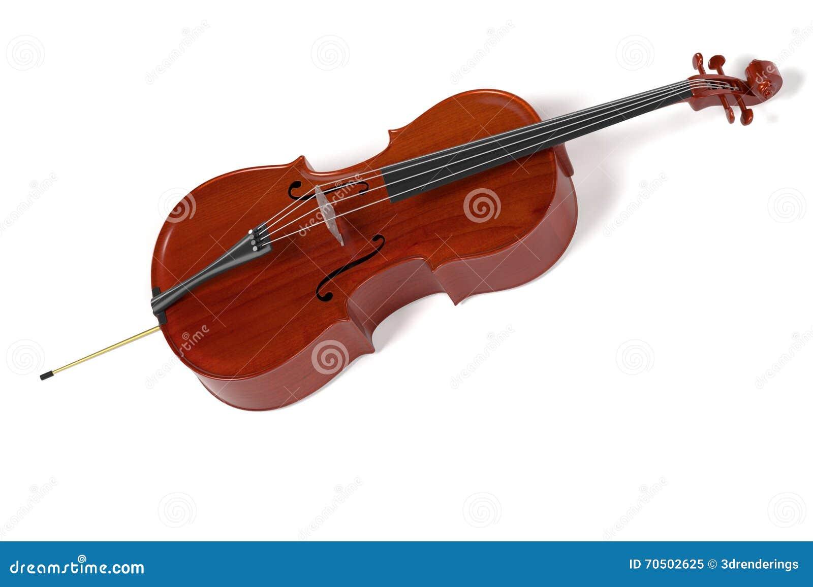 Strumento musicale del violoncello illustrazione di stock for Strumento del radiotecnico