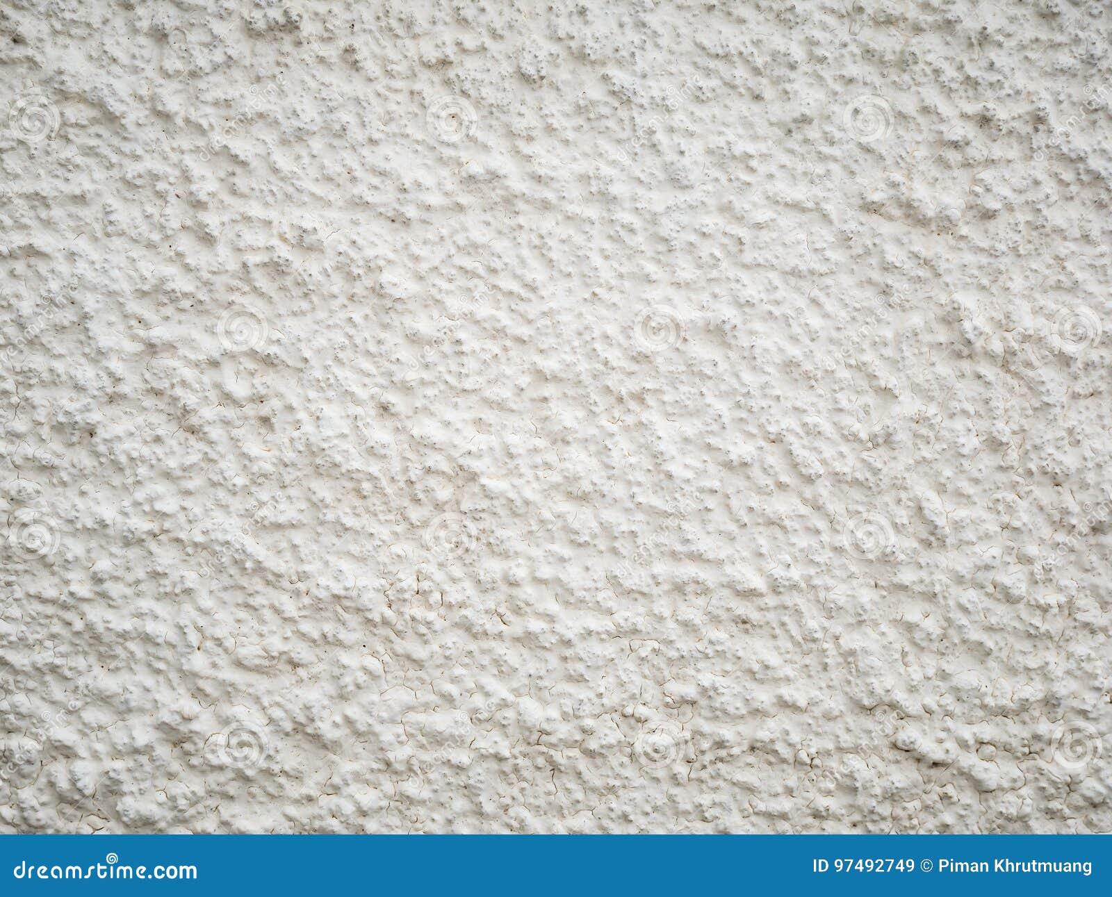 Struttura approssimativa bianca della parete del cemento