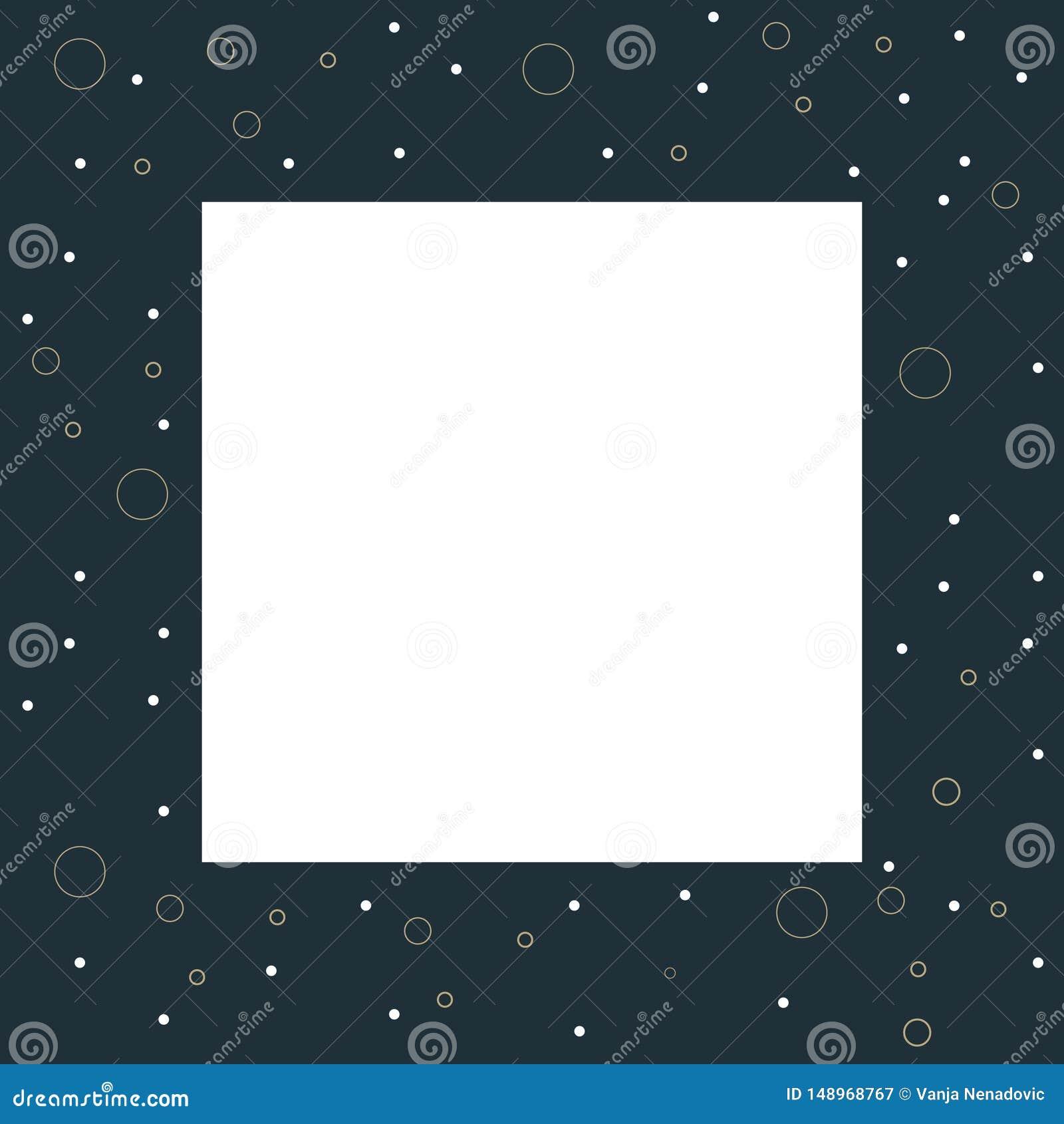 Struttura astratta della foto con il fondo del modello del cerchio, illustrazione del grafico di vettore