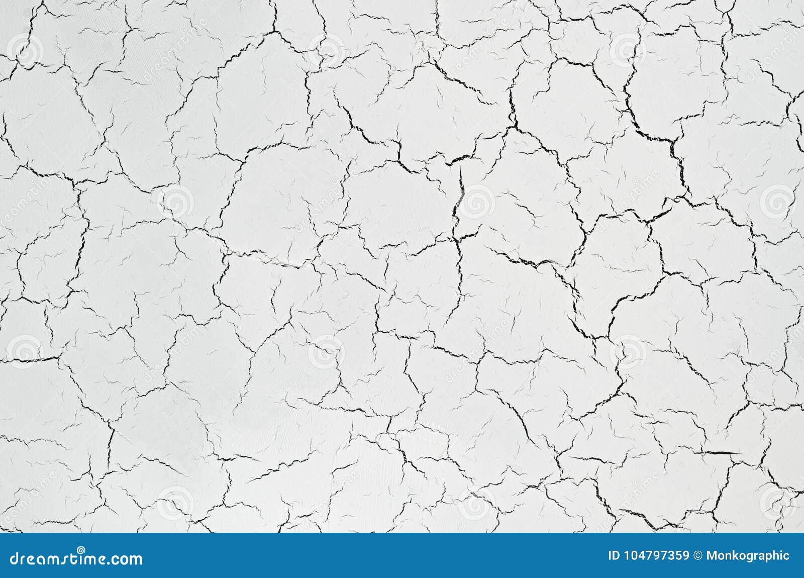 Pittura Effetto Intonaco Invecchiato struttura bianca con effetto del craquelure intonaco