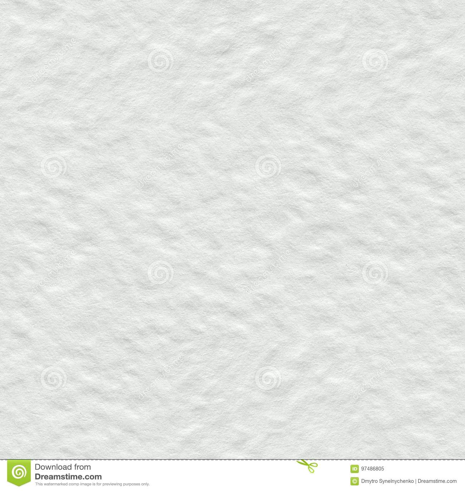 Struttura bianca della carta dell acquerello Fondo quadrato senza cuciture, mattonelle